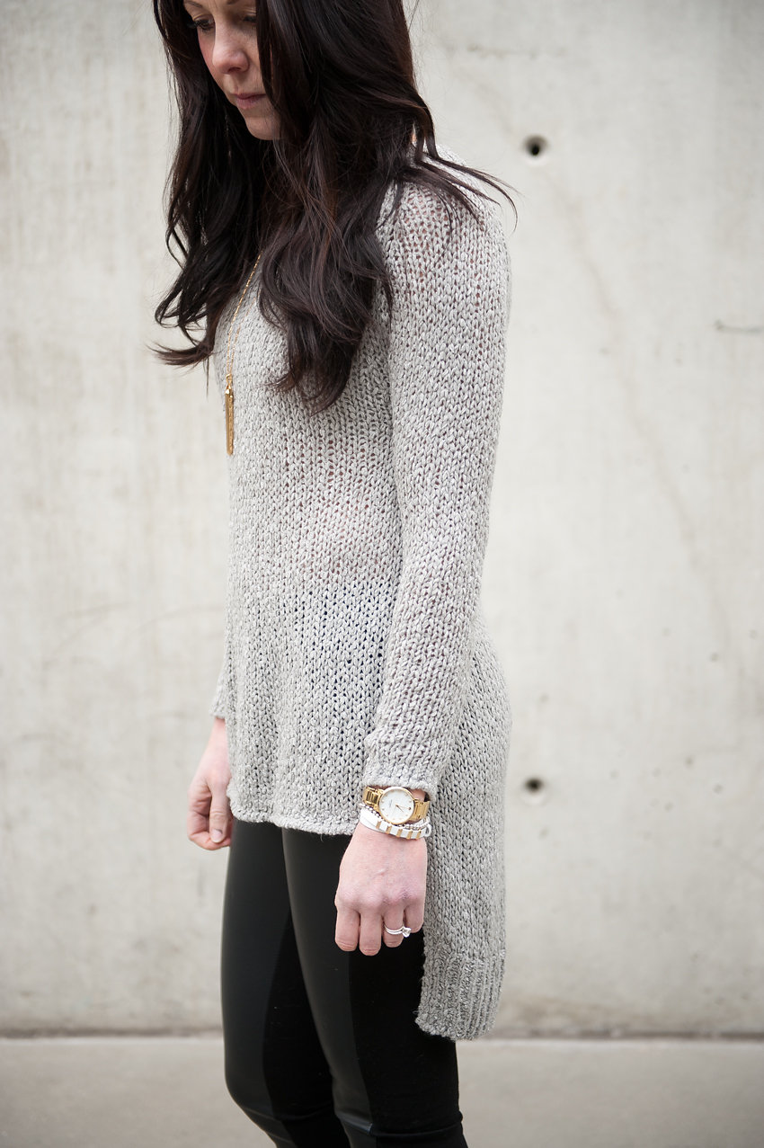 sweater + stella & dot - oil & grain