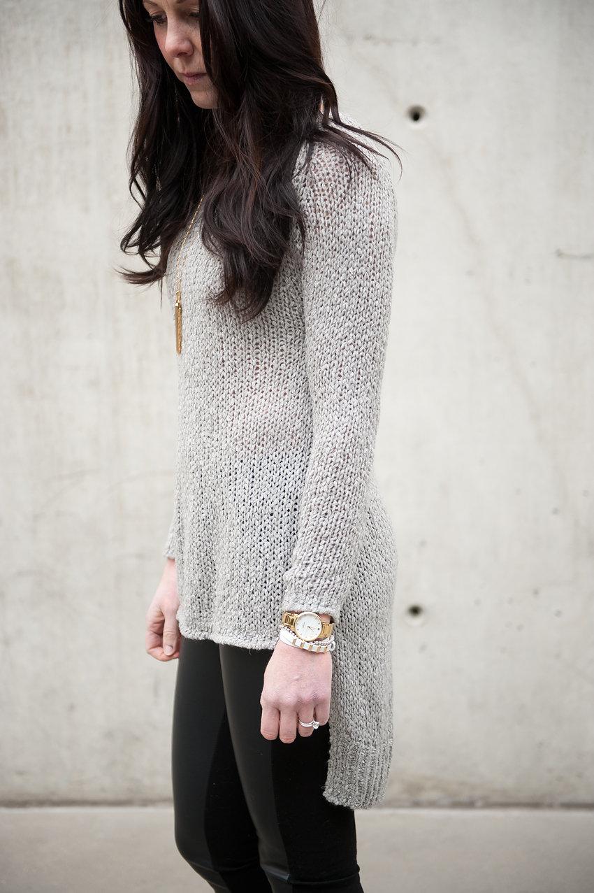 sweater + stella & dot - oil & grain