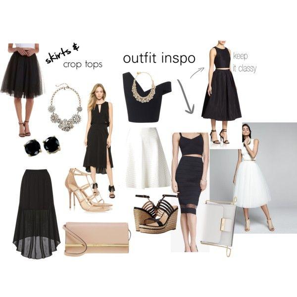 O&G - Wedding Season: Skirt & Crop Top