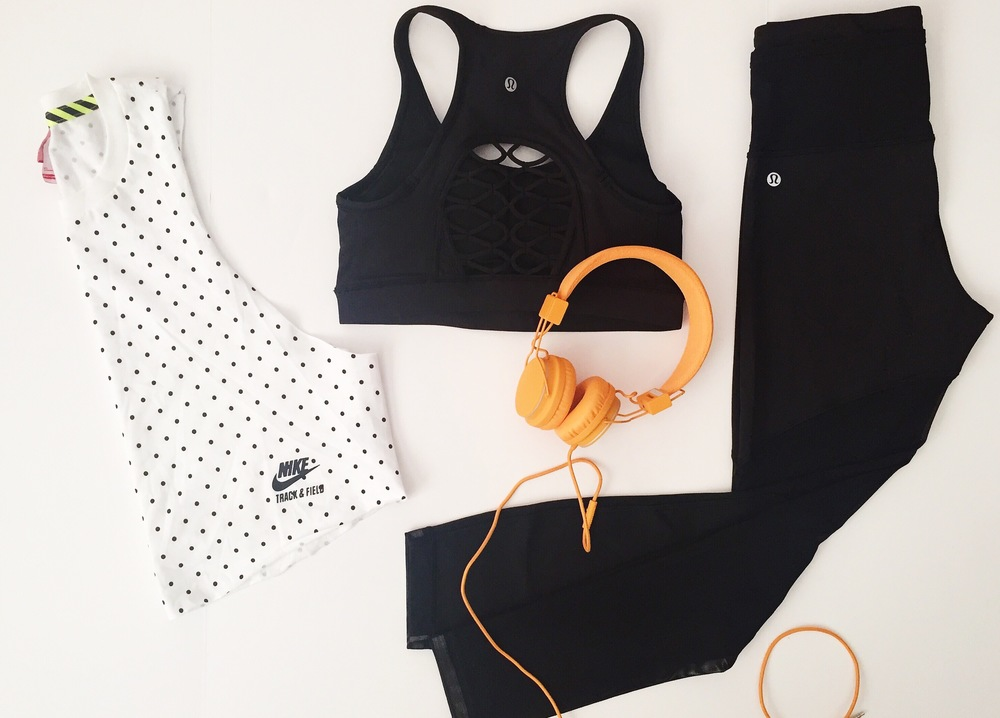 Oil & Grain - sweat style July 2015 // Nike + lululemon