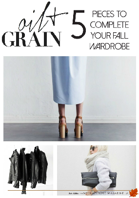 5 Pieces To Complete Your Fall Wardrobe | Amber Approved