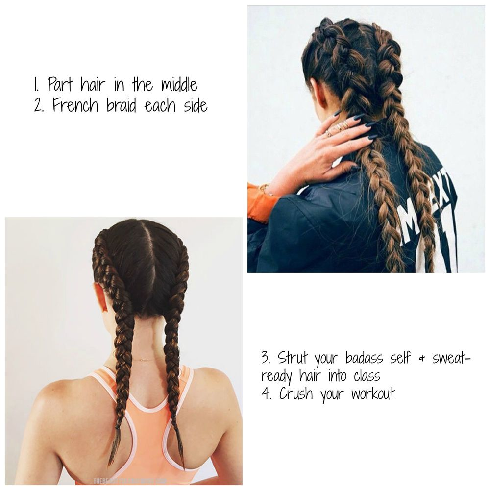 Boxer Braids Workout Hairstyle Oil Grain