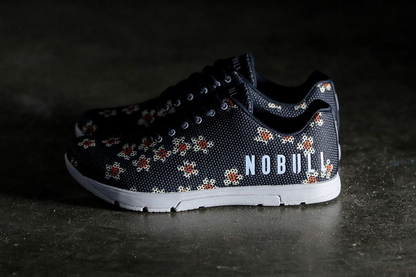 NoBULL Floral Trainers Oil & Grain