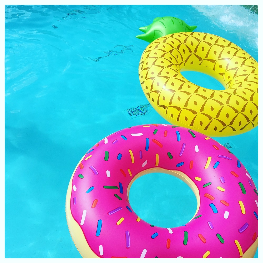 Pool Toys on Oil & Grain