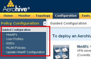 Aerohive HiveAP Initial (Guided) Configuration — Revolution