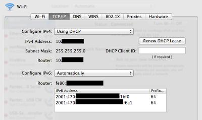 Setup an IPv6 Tunnel through Hurricane Electric on a Cisco