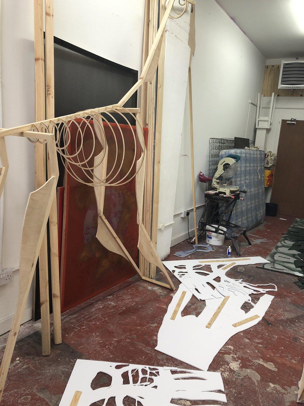 Xuan and Paulina's studio.