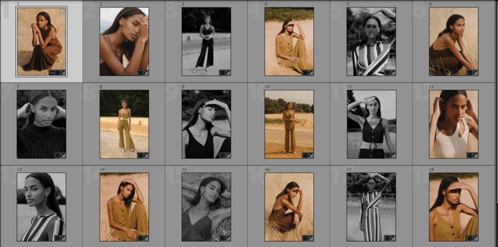 A final selection of Ashton's images from one of the test shoots