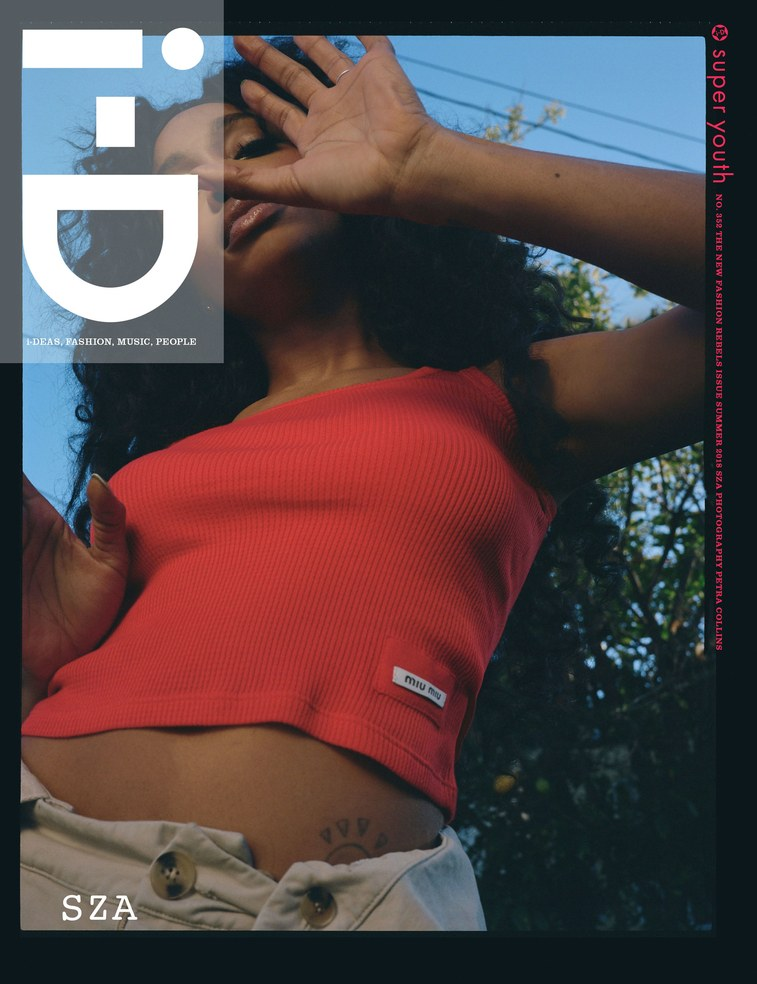 i-D is a highly influential publication based in London and represents the style of the UK market.