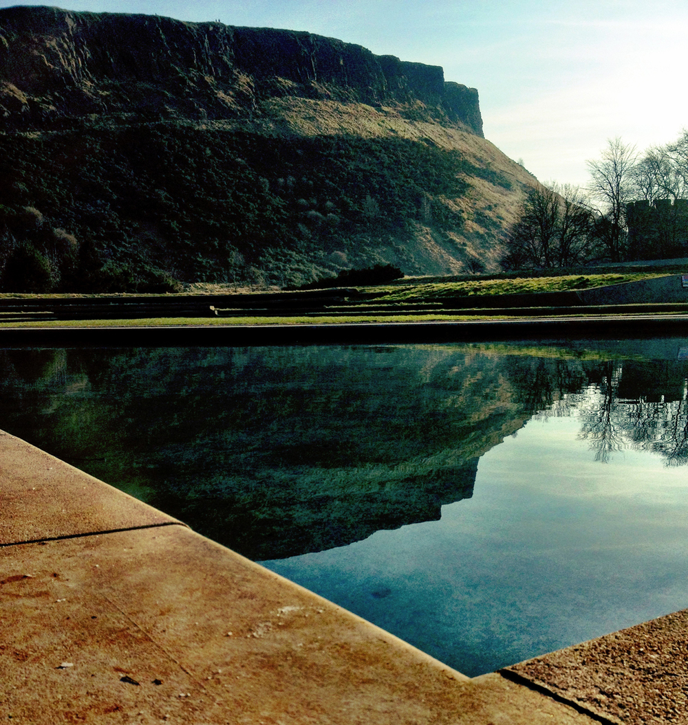 Arthur's seat reflections