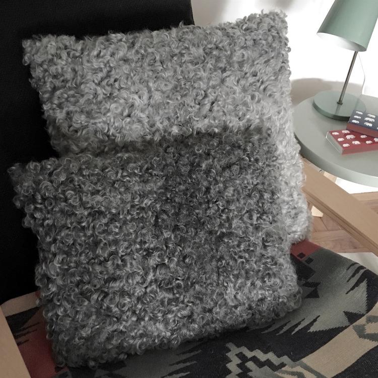 mongolian pastel pillow p throw decor htm mint sheepskin