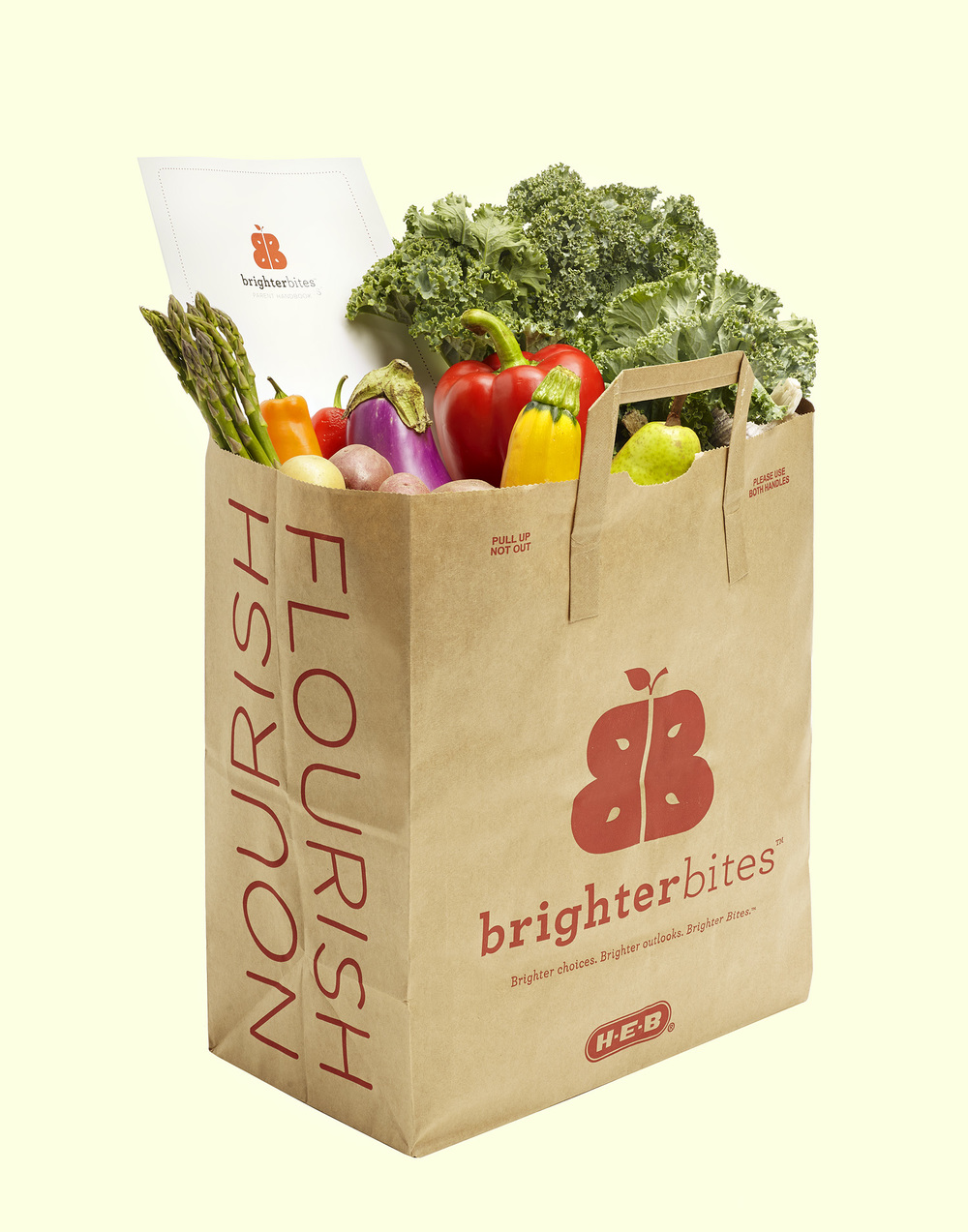 Brighter Bites Bag of Groceries
