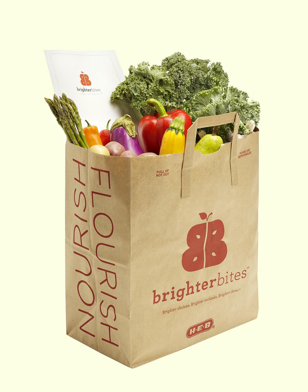 Brighter Bites Bag of Groceries