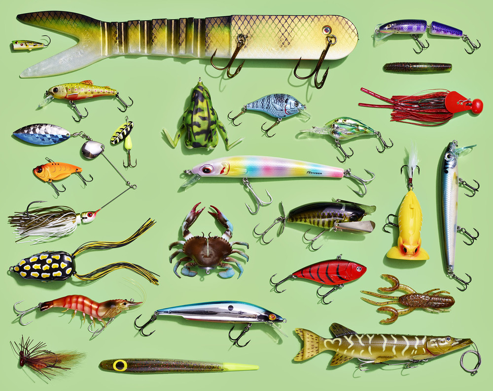 Group of 25 Fishing Lures