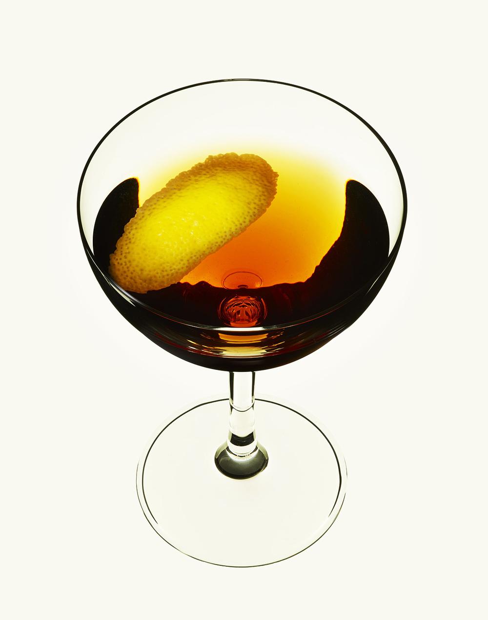 Dry Manhattan Cocktail
