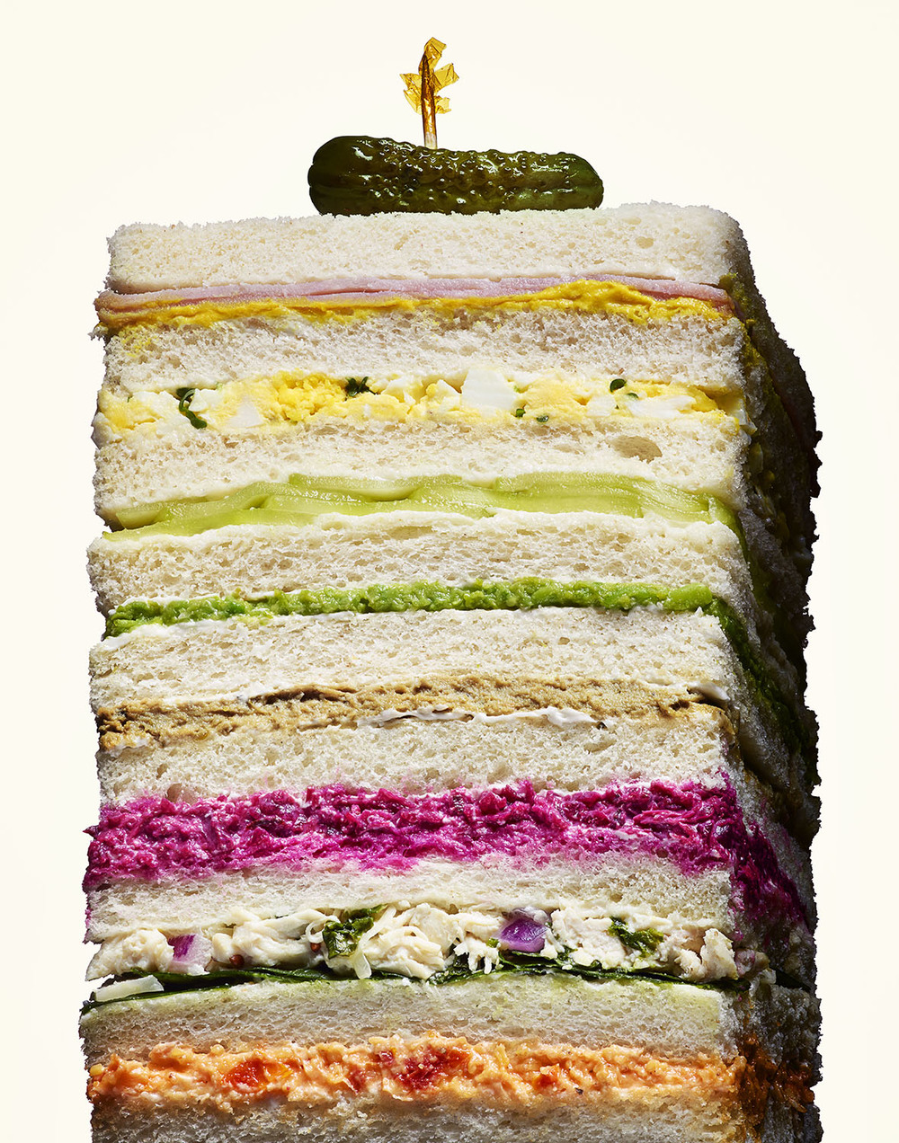 Argentinian Sandwich de Miga