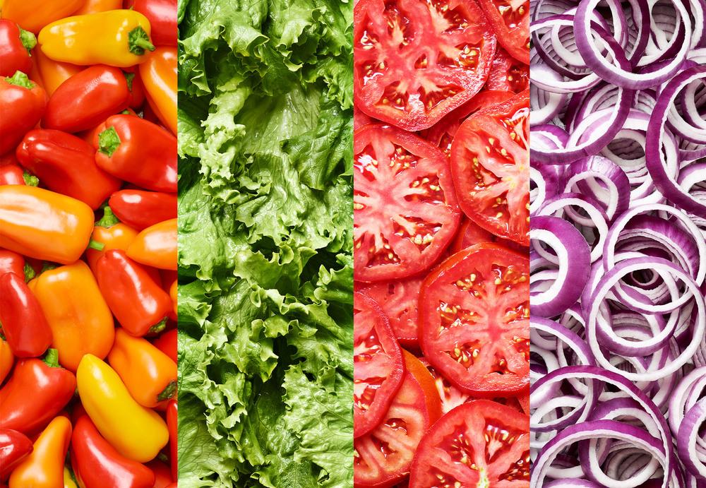 Burger Toppings - Jalapenos, Lettuce, Tomato, Onion