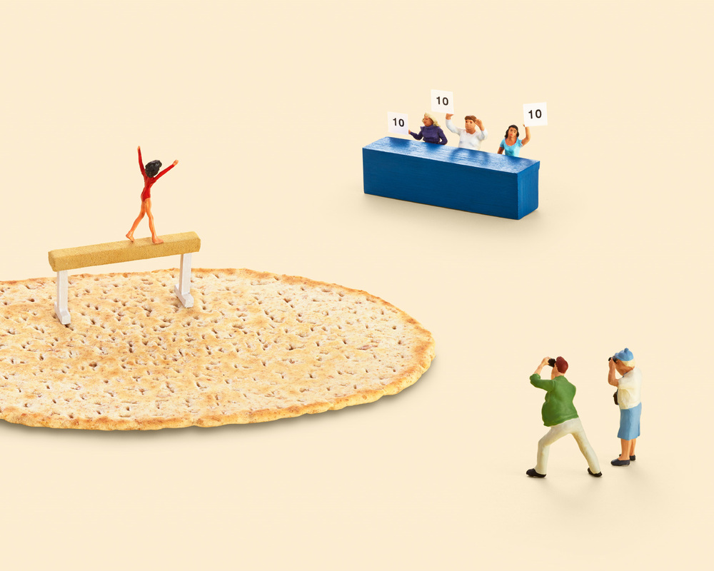 Sandwich Gymnast