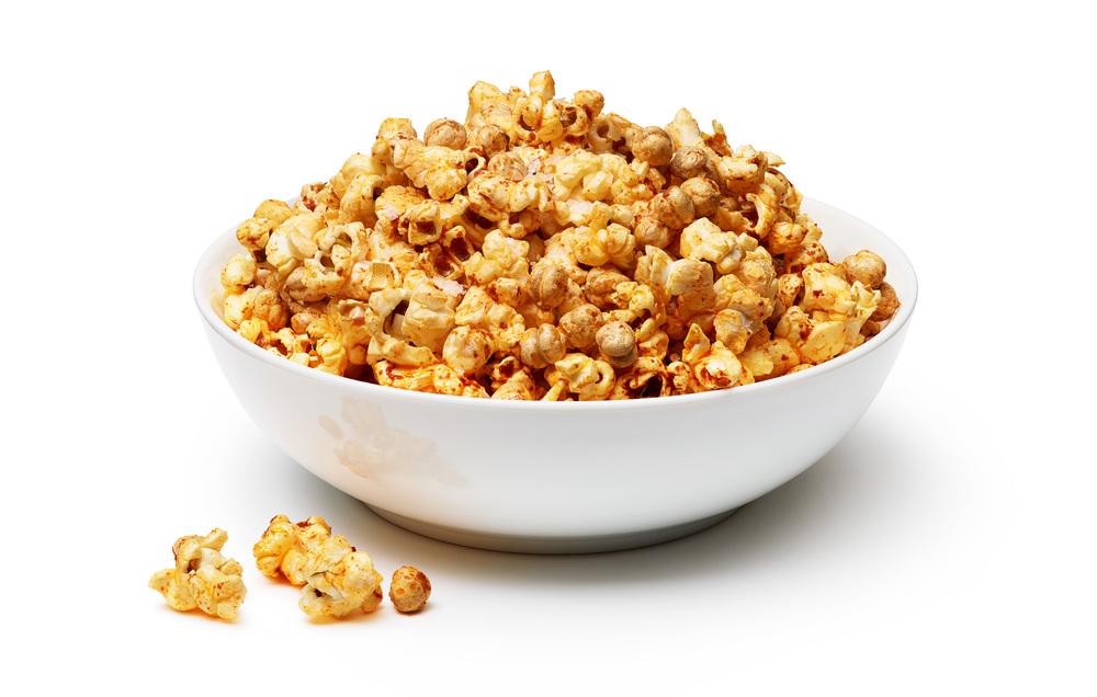 Spanish Chickpea Popcorn