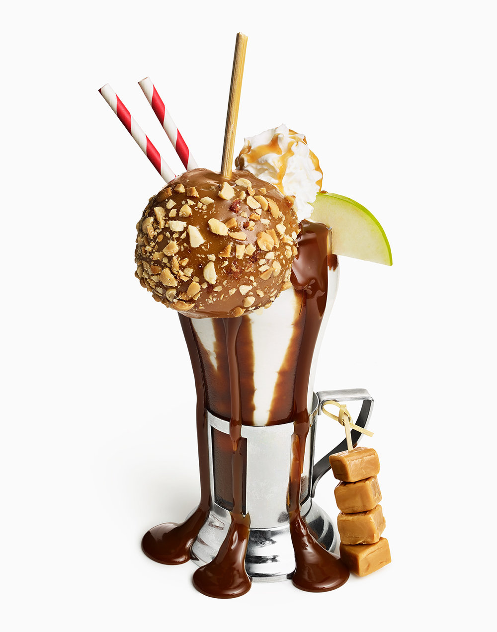 Caramel Apple Milkshake