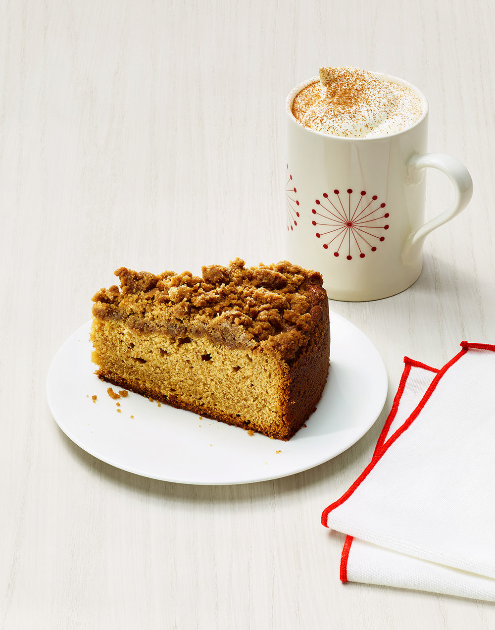 Gingerbread Pumpkin Latte and Coffee Cake