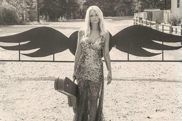 The cover of Miranda Lambert's  The Weight of These Wings (2016).