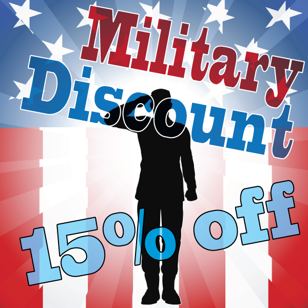 Military, First Responder Discount
