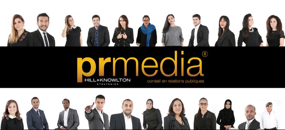 PR Média une équipe pluridisciplinaire