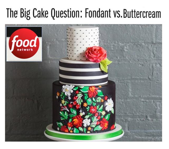 Hey there #cakelovers!  Check out the new @foodnetwork piece by @hldoolin featuring 3 of our wedding cakes!! 🙌🏻 #fondant #buttercream #customcakes #nyc #ksprulescakes (link in profile)