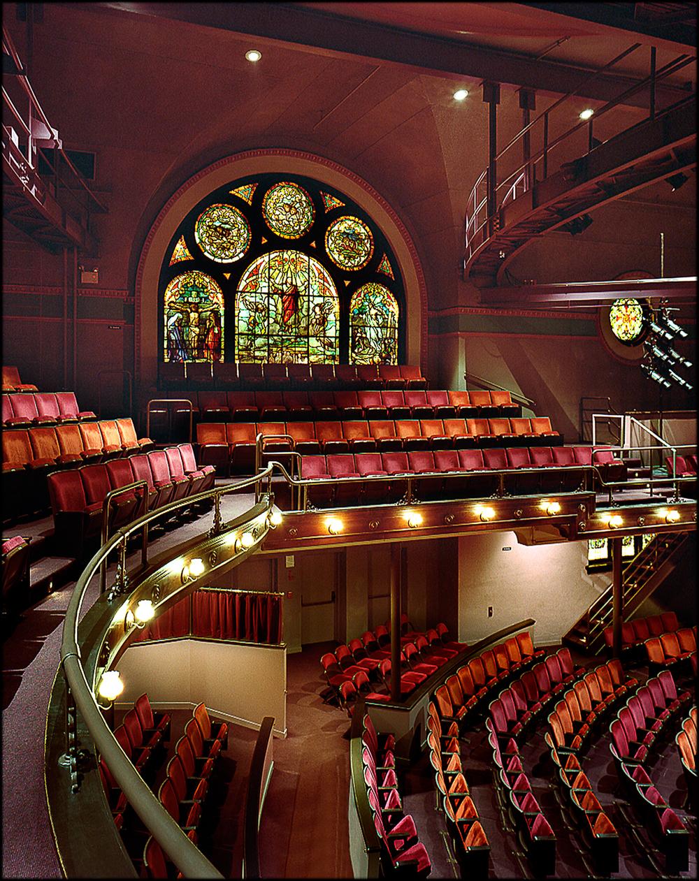 Client: Spirit Square - McGlohon Theatre