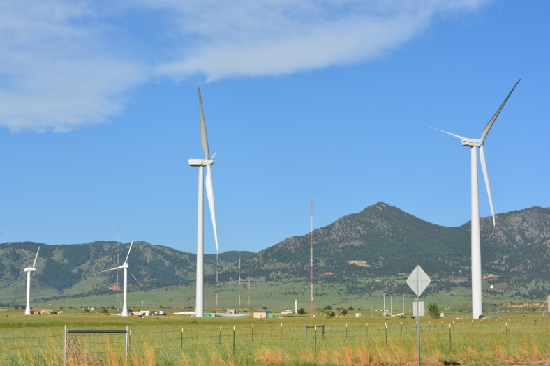 Wind Energy Example, Colorado