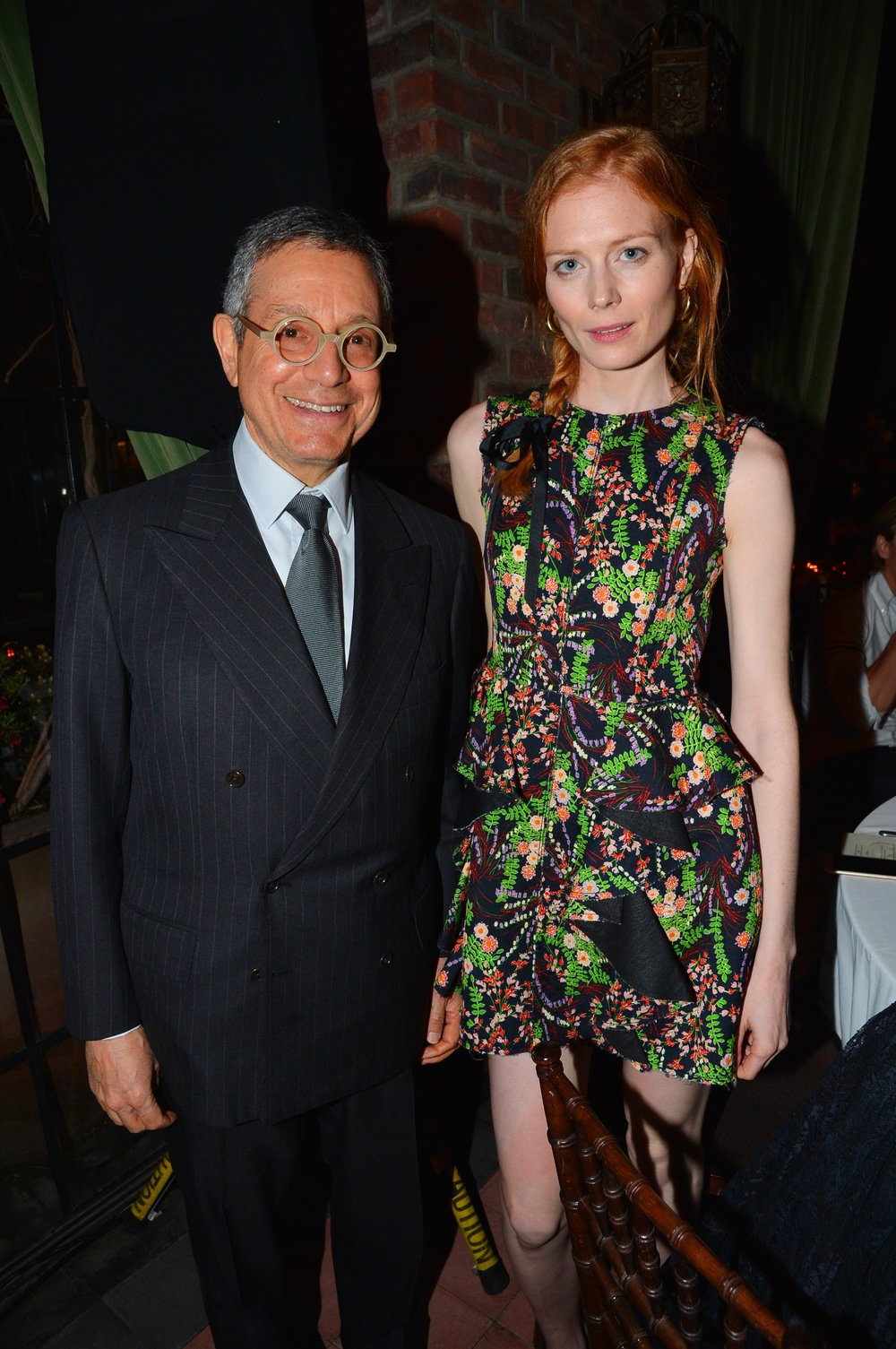 Jeffrey Deitch and Jessica Jaffe