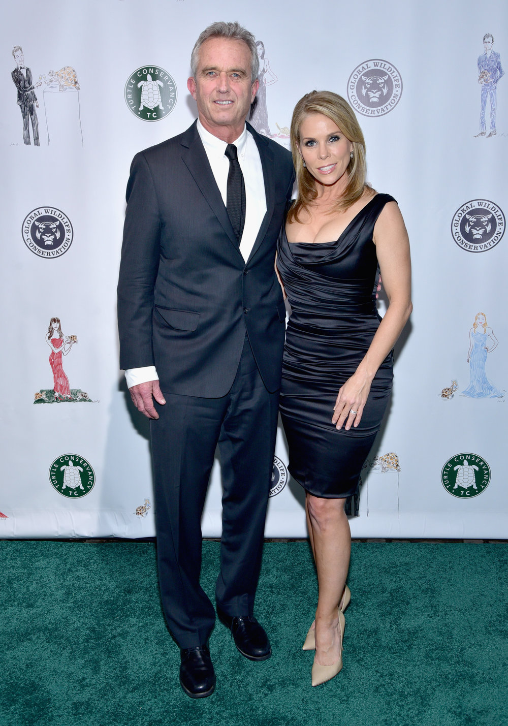 Robert F. Kennedy Jr. and Cheryl Hines