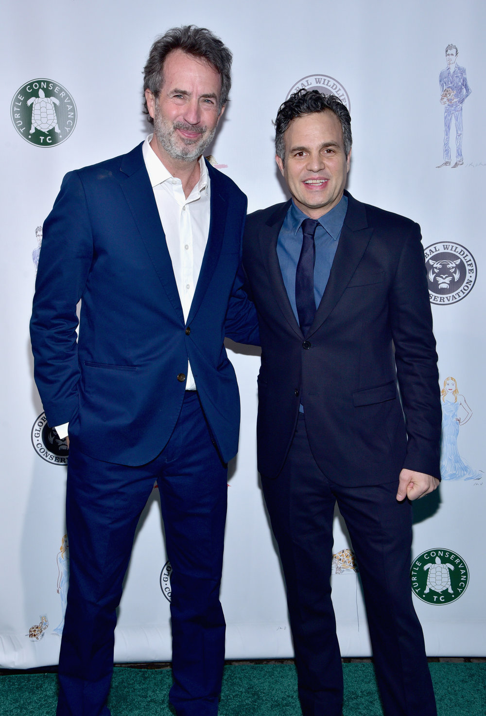 Eric Goode and Mark Ruffalo