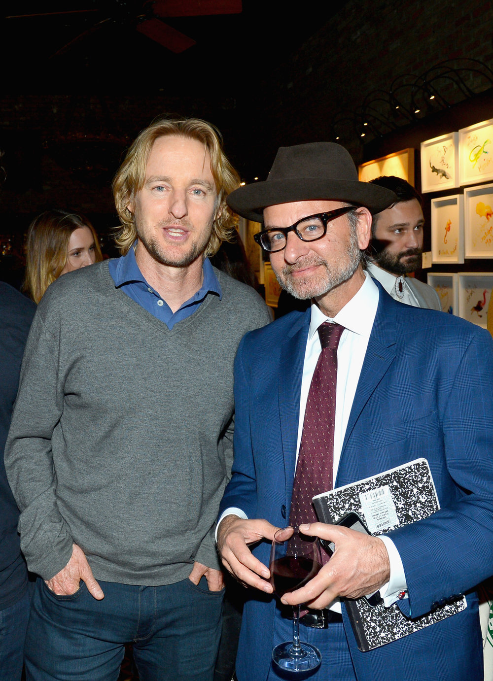 Owen Wilson and Fisher Stevens