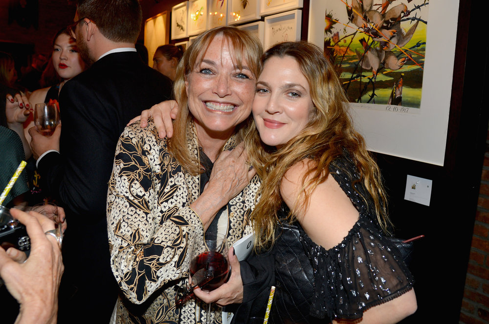Karen Allen and Drew Barrymore