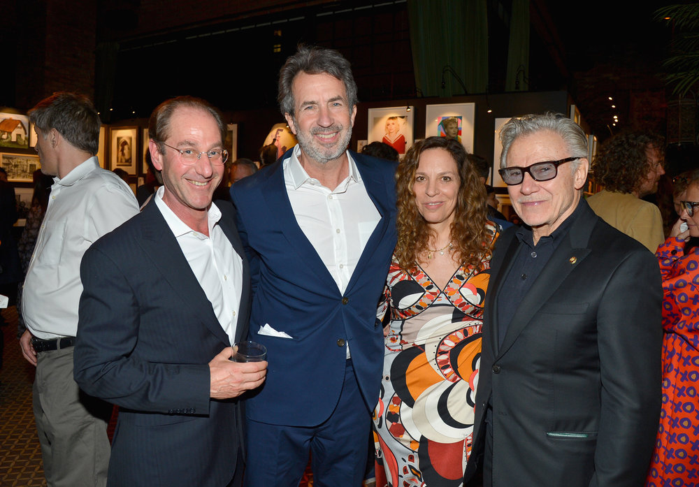 Mitchell Axe, Eric Goode, Daphna Kastner, and Harvey Keitel