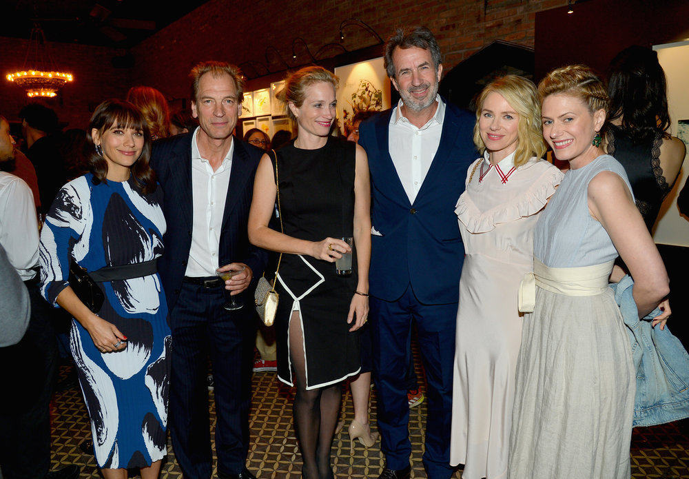 Rashida Jones, Julian Sands, Alexis Bloom, Eric Goode, Naomi Watts, and Sunrise Coigney
