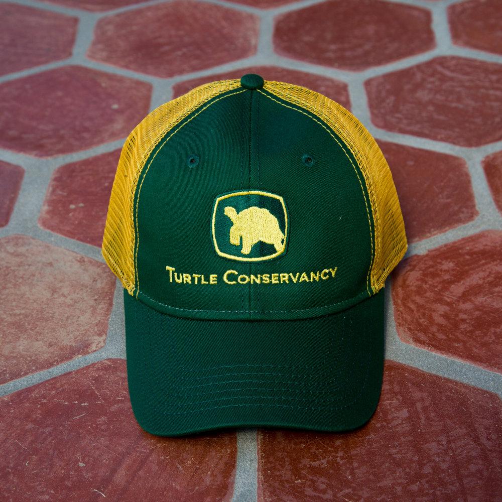 Turtle Conservancy — John Deere Baseball Cap 395a396d984