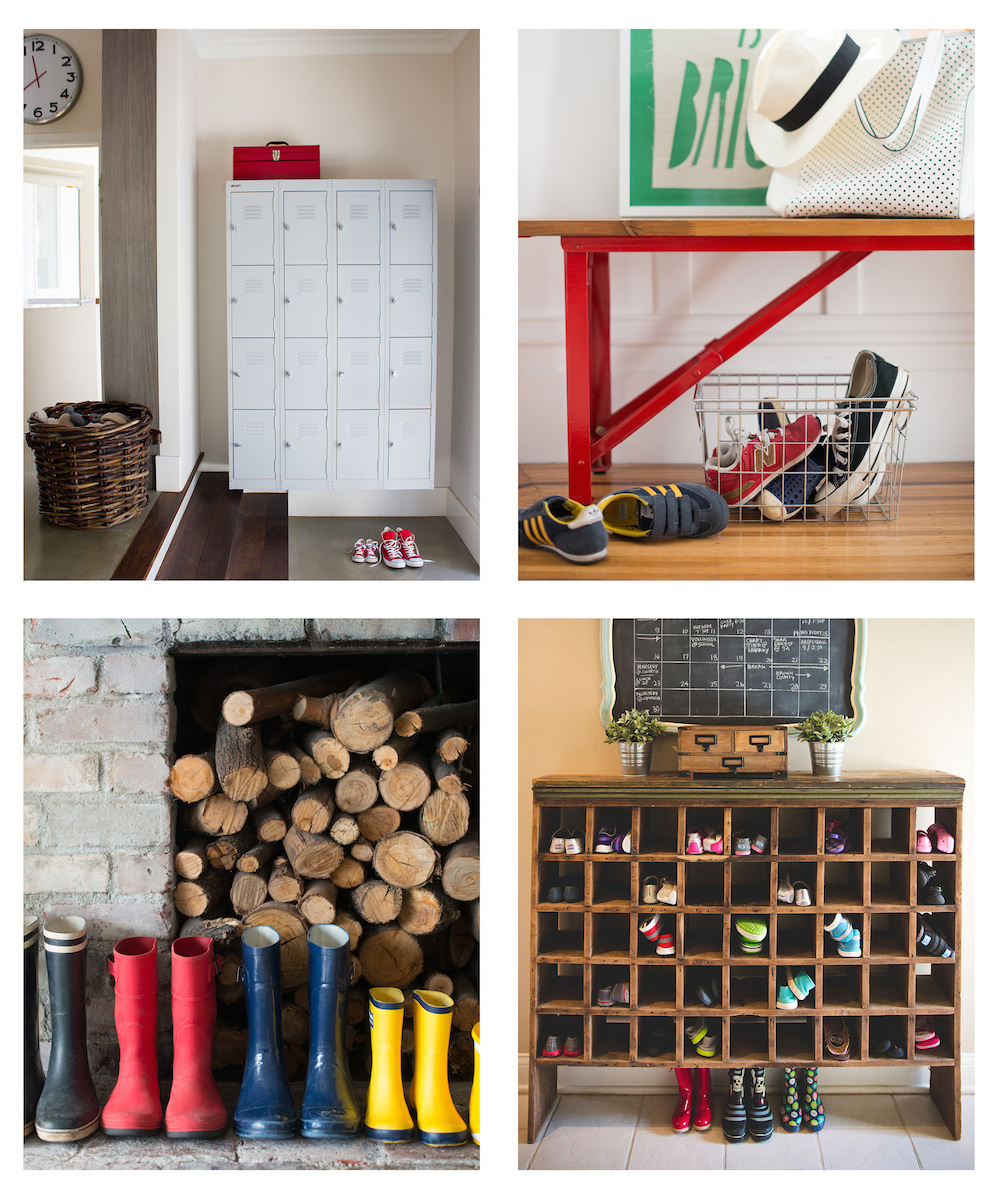 How to Declutter an Entryway pics