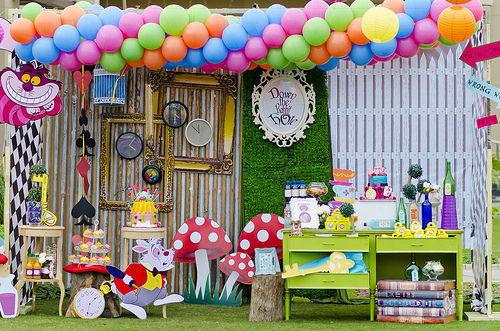Parents are opting out of over the top parties like these and hosting simple celebrations.