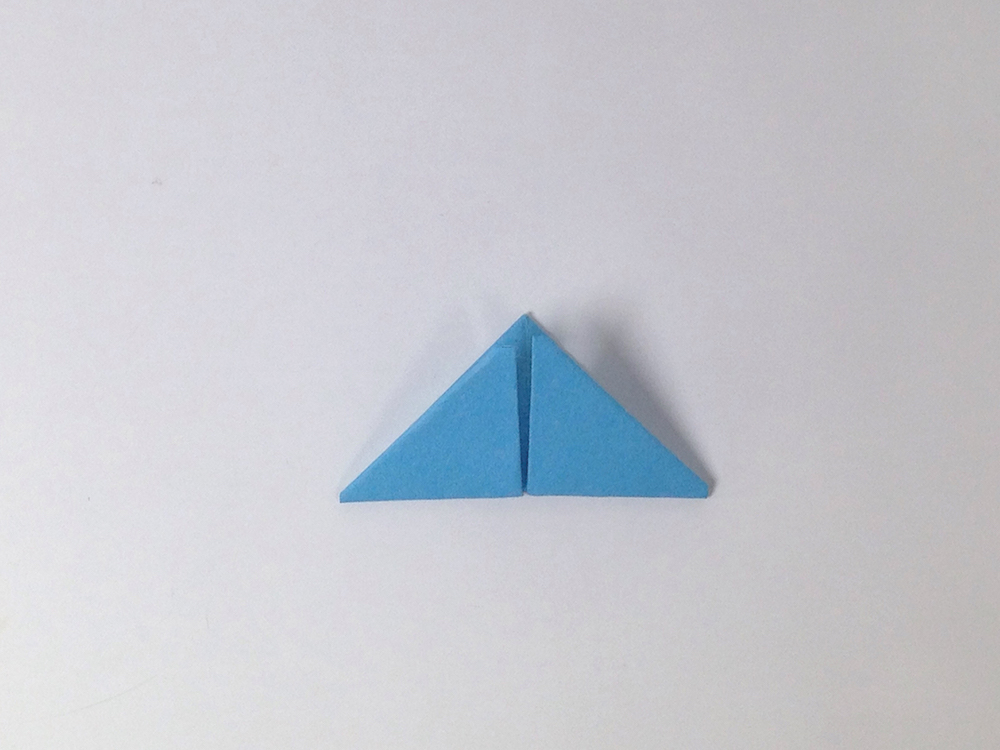 Flaps Should Be On The Inside Of Triangle Ta Da Your 3D Origami Piece Is Complete