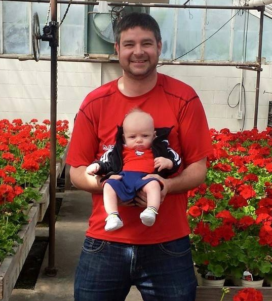 Evan's 1st year working at Omaha's best family owned florist.  Serving Omaha, NE since 1913