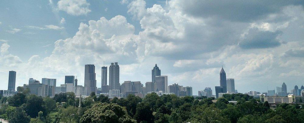 "47.9% - Atlanta has the highest percentage of overall urban tree canopy in the United States.Providing the city the moniker of the ""City in the Forest."""