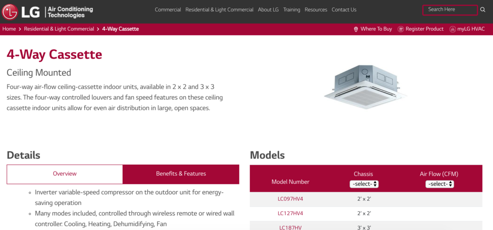 Product pages - Allow for easy access to key details and additional products.