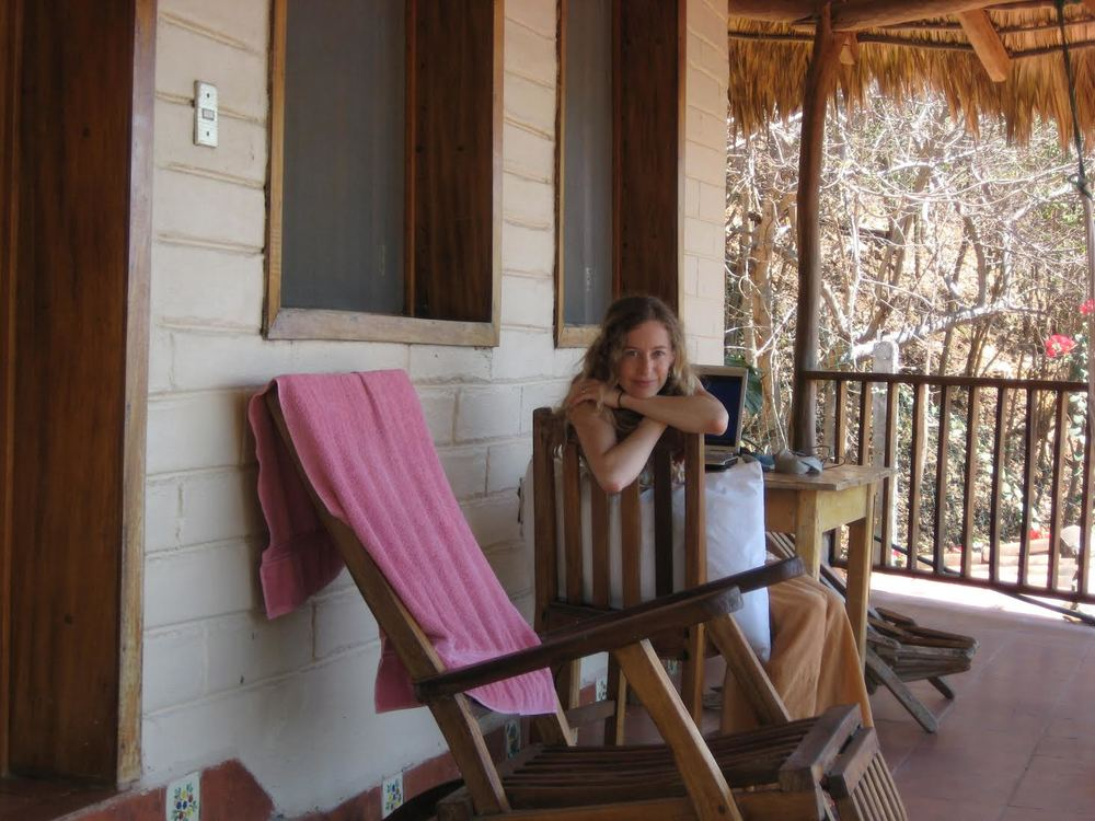 """""""I lovetraveling to far flung places like rural Mexico, Ecuador, and southern France to find inspiration for my novels.""""  - Laura"""