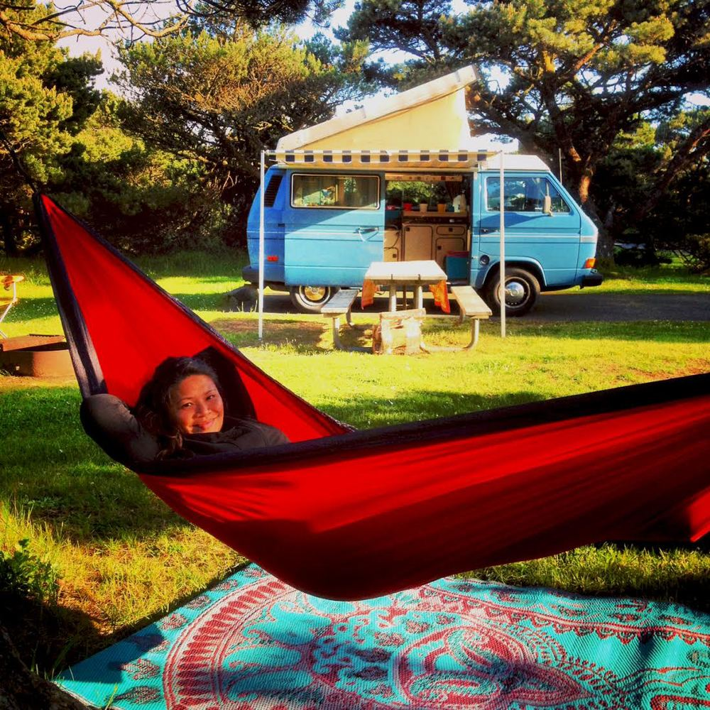 """""""Van-life is my passion because it embodies both simplicity and adventure.""""    -   Richele"""