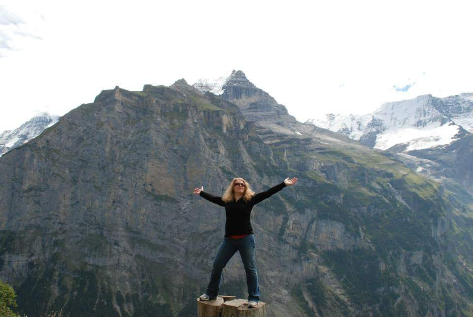 """""""The awe-inspiring Swiss Alps challenged me to become stronger so that I can enjoy bigger hikes and more remote places."""" -Amanda"""