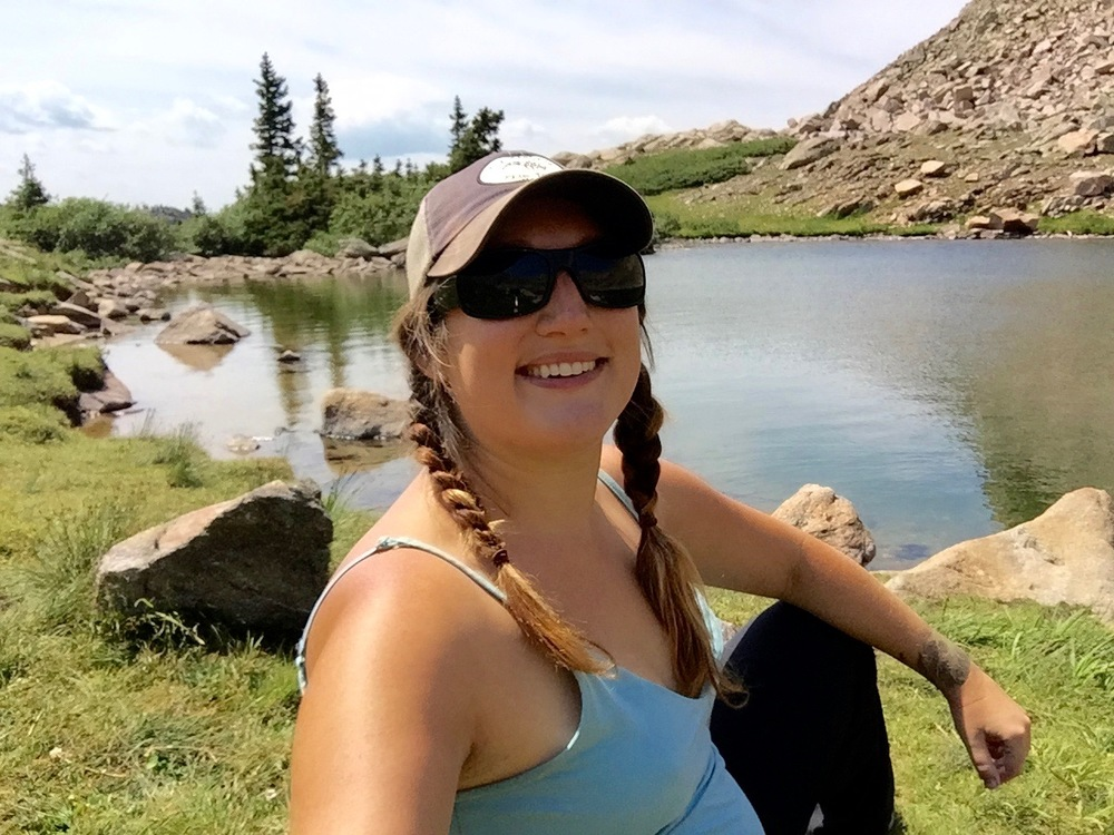 """A week-long solo camping, hiking, and fly fishing break in the Colorado State Forest State Park, and enjoying the view at Ruby Jewel Lake captures my wild!""  -Kristin"