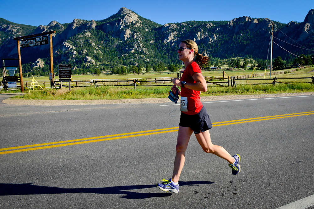 """Running frees me from self-doubt and as my feet hit the pavement, their steady rhythm whispers that anything, with hard work and perseverance, is possible."" -Allison"